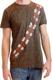 Star Wars Chewbacca Costume T-Shirt (Medium)