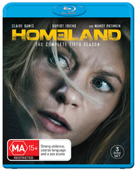 Homeland - Season 5 on Blu-ray