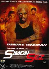 Simon Sez on DVD