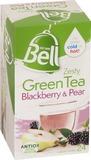 Bell Zesty Green Tea - Blackberry & Pear Tea Bags (24 Bags)