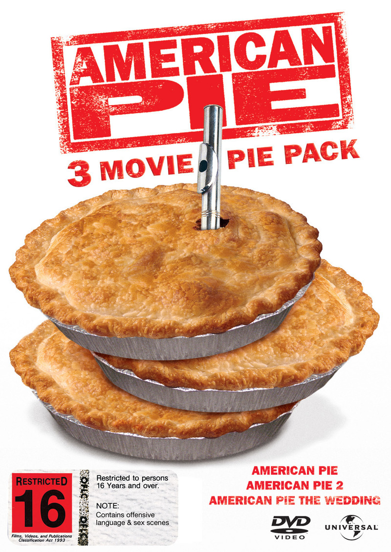 American Pie / American Pie 2 / American Pie: The Wedding - 3 DVD Collection (3 Disc Set) on DVD image