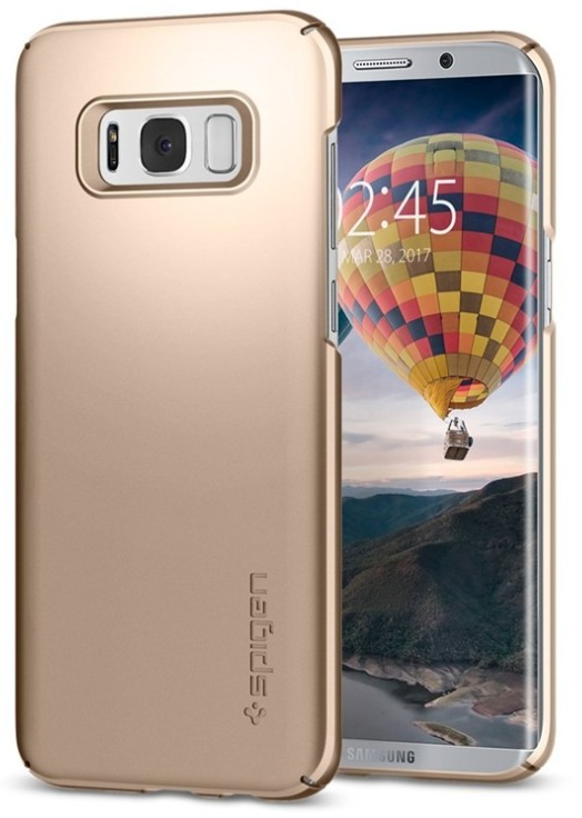 Spigen Galaxy S8+ Thin Fit Case Gold Maple