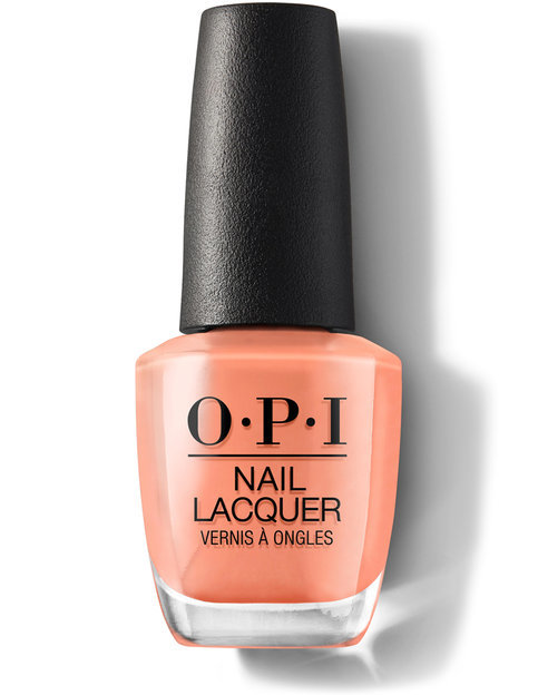 OPI Nail Lacquer # NL W59 Freedom of Peach (15ml)