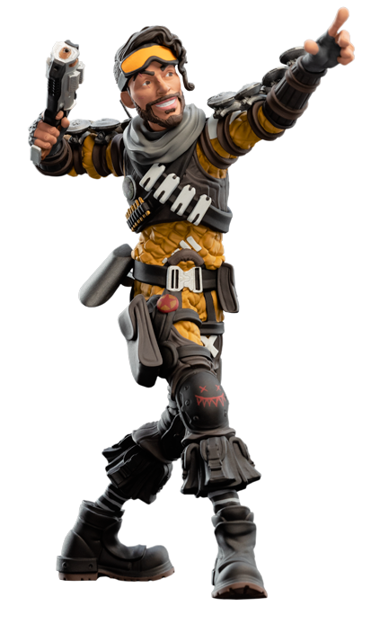 Apex Legends Mirage At Mighty Ape Nz Download apex legends logo high resolution transparent png image for free. weta collectibles