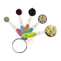 Ape Basics: Stainless Steel Measuring Cups & Spoons (Set of 10) image