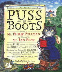 Puss in Boots, or the Ogre, the Ghouls and the Windmill by Philip Pullman image