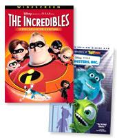 The Incredibles / Monsters, Inc. Double Pack! on DVD