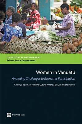 Women in Vanuatu: Analyzing Challenges to Economic Participation by Amanda Ellis image