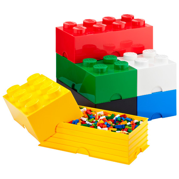 LEGO Storage Brick 8 (Red) | at Mighty Ape NZ