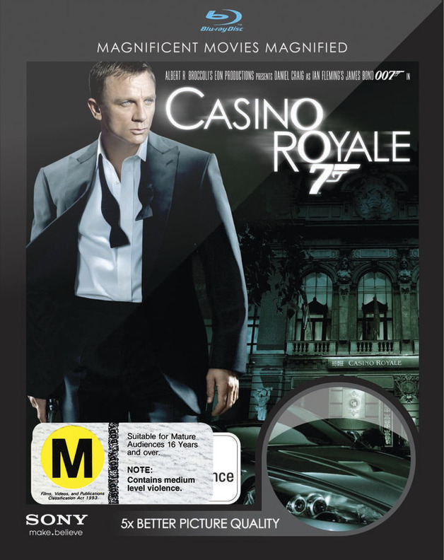 Casino Royale on Blu-ray