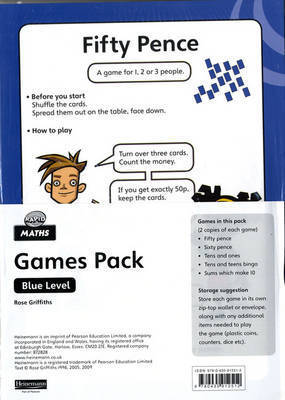 Rapid Maths: Stage 2 Games Pack by Rose Griffiths