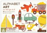 Petit Collage - Alphabet Art - Transport