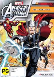Avengers Assemble: New Frontiers (Season 2) on DVD