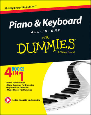 Piano and Keyboard All-in-One For Dummies by Consumer Dummies image