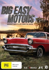 Big Easy Motors - Season One on DVD