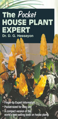 The Pocket House Plant Expert by D.G. Hessayon