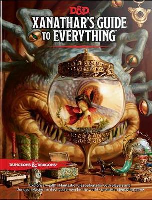 Dungeons & Dragons Xanathars Guide to Everything by Wizards RPG Team image