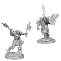 D&D Nolzur's Marvelous: Unpainted Miniatures - Dragonborn Female Fighter
