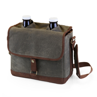 Double Growler Tote with Growlers