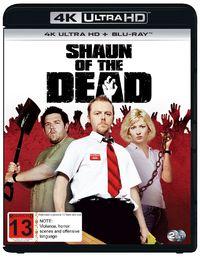 Shaun of the Dead on UHD Blu-ray