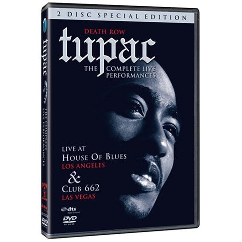 Tupac - The Complete Live Performances: Special Edition on DVD image