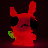 Meltdown Dunny Orange Edition Vinyl Figure image