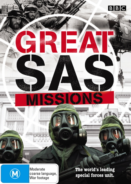 Great SAS Missions on DVD