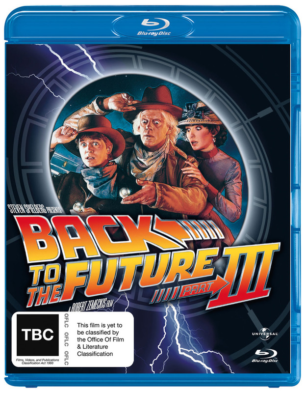 Back to the Future Part 3 on Blu-ray
