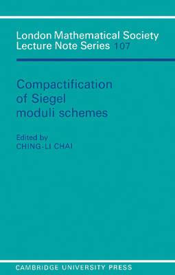 Compactification of Siegel Moduli Schemes
