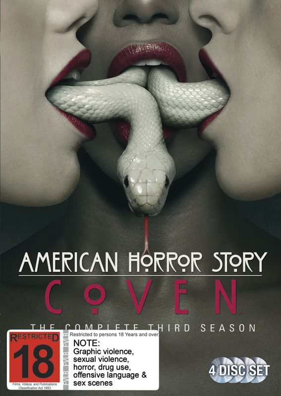 American Horror Story: Coven - The Complete Third Season on DVD