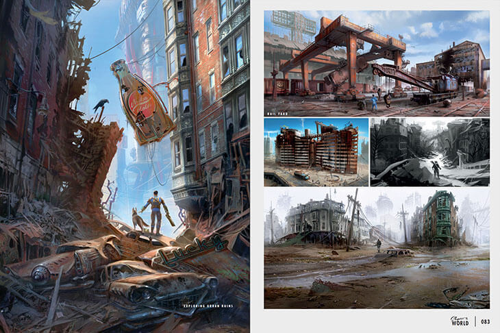 The Art of Fallout 4 by Bethesda Softworks image