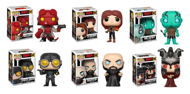 Hellboy - Pop! Vinyl Bundle (with a chance for a Chase version!)