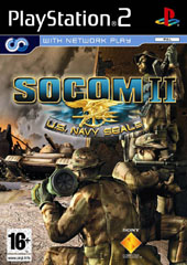 SOCOM II: U.S. Navy SEALs + Headset for PS2