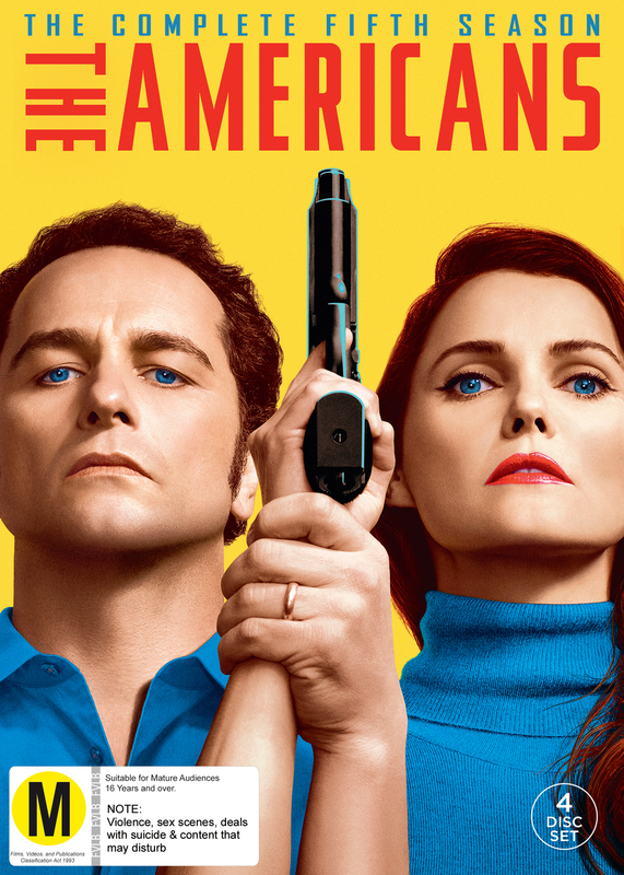 The Americans - Season 5 on DVD