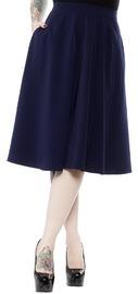 Sourpuss: Circle Skirt Blue (XXL)