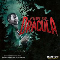 Fury of Dracula: 4th Edition - Board Game