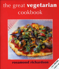 The Great Vegetarian Cookbook by Rosamond Richardson image