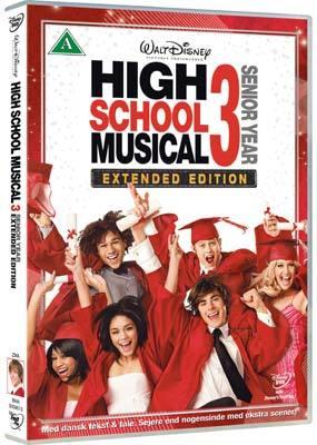 High School Musical 3: Senior Year - Extended Edition on DVD