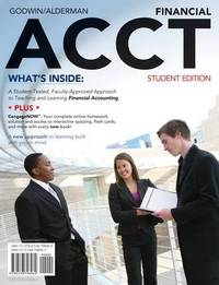 Financial Acct: 2010 Student Edition (with Printed Access Card and Prep Cards) by C Wayne Alderman image