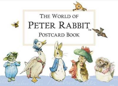 World of Peter Rabbit Postcard Book by Beatrix Potter