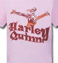 Harley Quinn Pink Kids T-Shirt (Size 4) image