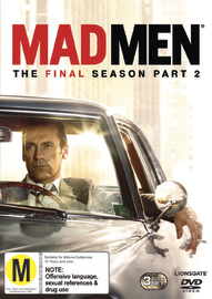 Mad Men: Season Seven - Part Two on DVD