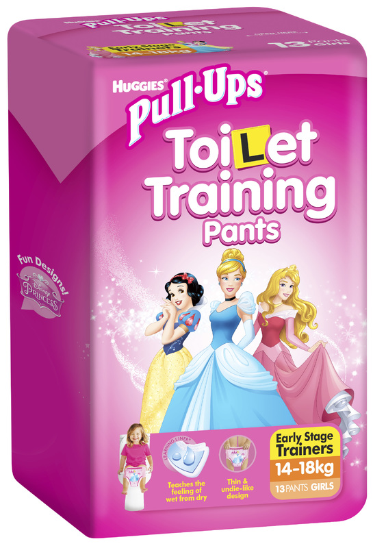 Huggies Pull-Ups Training Pants - Size 3 Girl 14-18 kg (13)