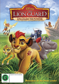 The Lion Guard : Unleash The Power on DVD image