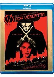 V For Vendetta on Blu-ray