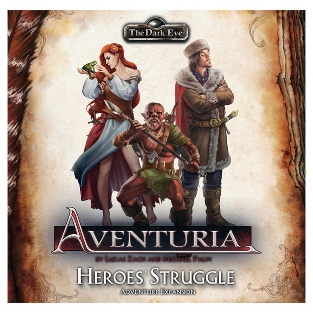 The Dark Eye: Aventuria LCG - Heroes Struggle Expansion