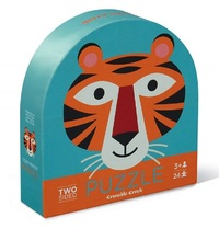 Crocodile Creek: Two-Sided Puzzle - Tiger Friends image