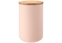Stak: Soft Matt Canister - Pink (17cm)