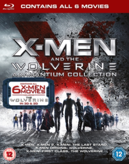 X-Men & Wolverine Adamantium Collection on Blu-ray