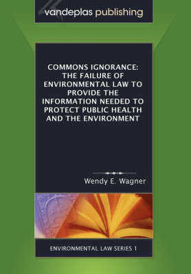 Commons Ignorance by Wendy E. Wagner image